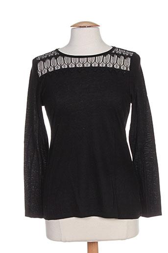 pablo gerard darel t-shirts femme de couleur noir