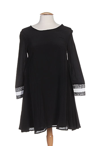 Robe courte noir ELLA LUNA pour femme