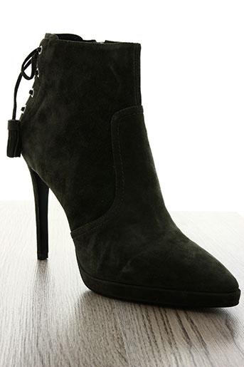 lola cruz chaussures femme de couleur vert