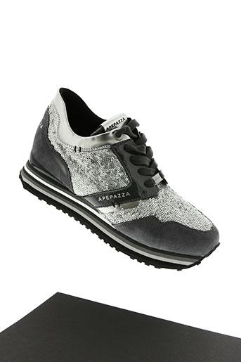 apepazza chaussures femme de couleur gris