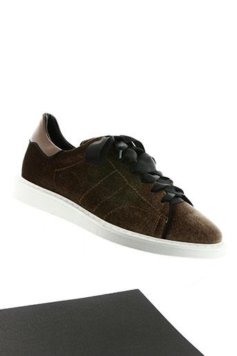 bibi lou chaussures femme de couleur marron
