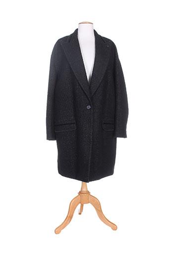 high manteaux femme de couleur noir