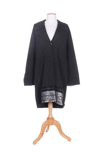 d.exterior manteaux femme de couleur gris