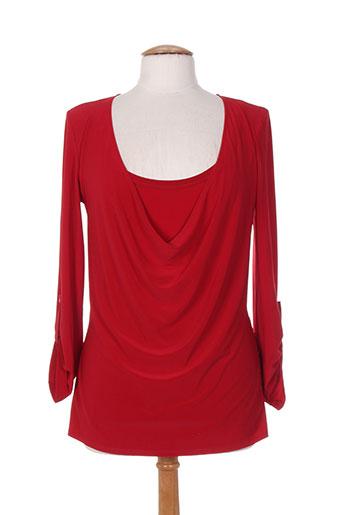 joseph ribkoff chemises femme de couleur rouge
