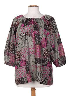 T-shirt manches longues rose HAPPY FEW pour femme
