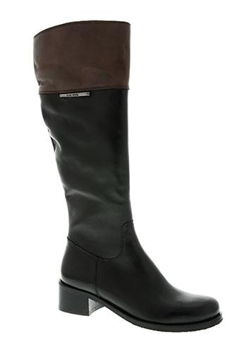 rose noire chaussures femme de couleur noir