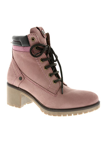 wrangler chaussures femme de couleur rose