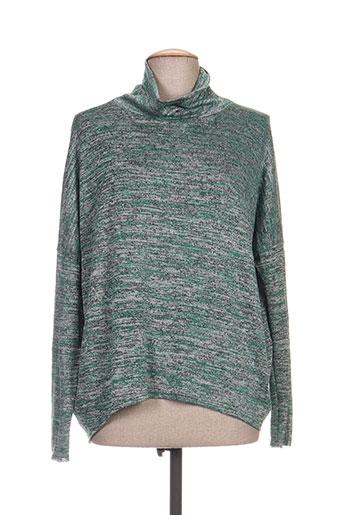 timono chemises femme de couleur vert