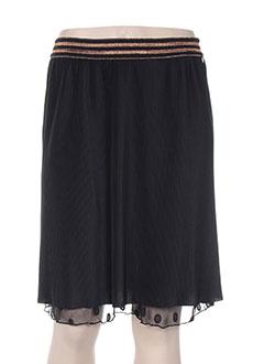 Mini-jupe noir MADO ET LES AUTRES pour femme