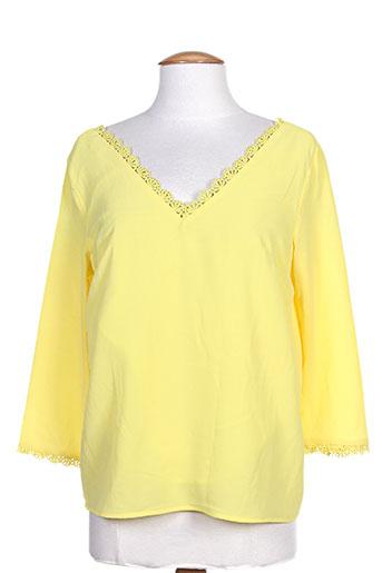 noemie EFFI_CHAR_1 co chemises femme de couleur jaune