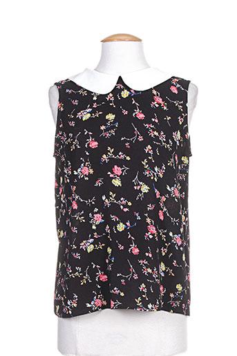 noemie EFFI_CHAR_1 co chemises femme de couleur noir