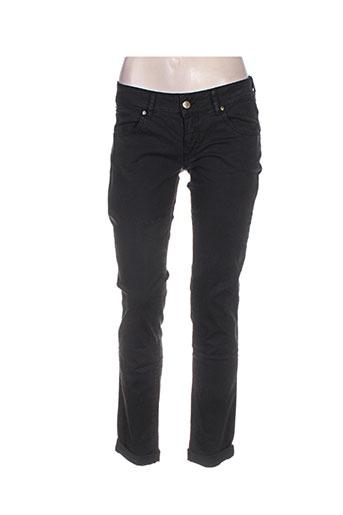 met jeans femme de couleur noir