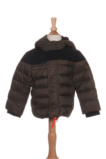 gertrude + gaston manteaux garçon de couleur vert