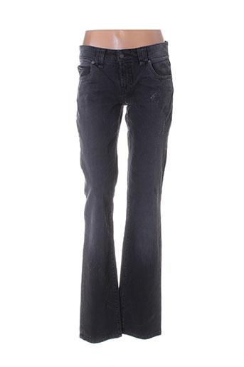 galliano jeans femme de couleur noir