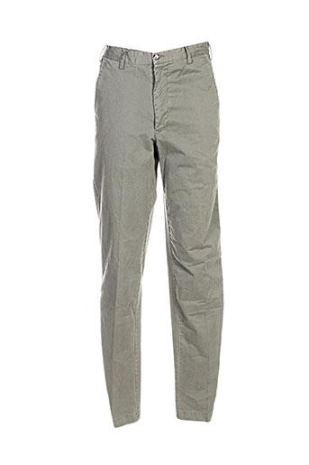 Pantalon casual vert HENRY COTTON'S pour homme