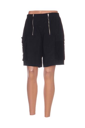 gianfranco ferre shorts / bermudas femme de couleur noir
