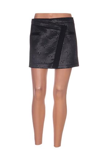 Mini-jupe noir ATOS LOMBARDINI pour femme