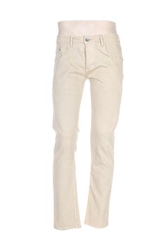 jaylvis pantalons homme de couleur beige