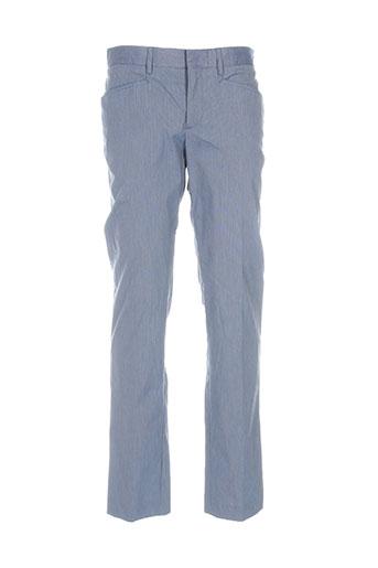 Pantalon chic bleu BILL TORNADE pour homme