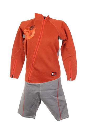 Combi-pantalon orange LA COMPAGNIE DU BAIN pour homme