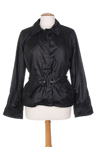 tosca blu manteaux femme de couleur noir