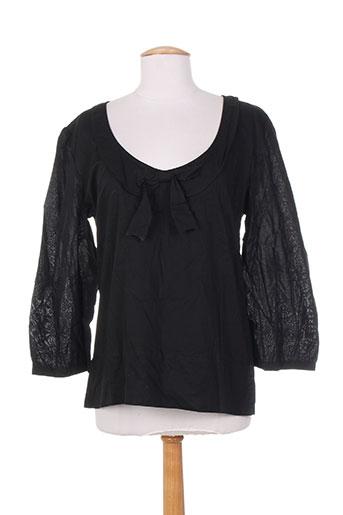 kamakala chemises femme de couleur noir