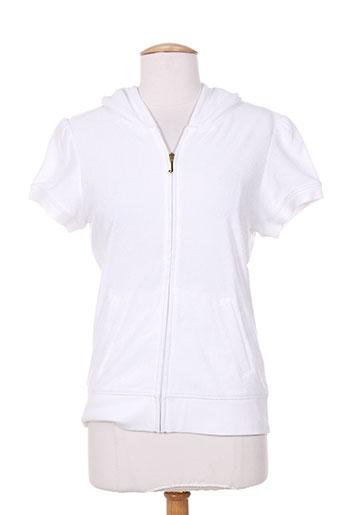 juicy couture vestes femme de couleur blanc