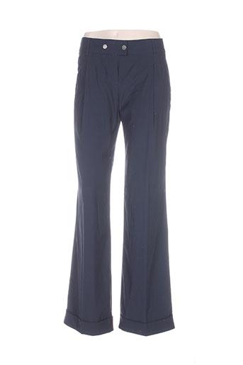 Pantalon casual bleu CARACTERE pour femme