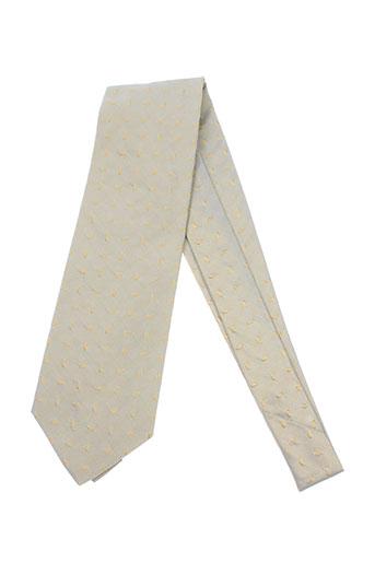 Cravate beige ACCESS'M pour homme