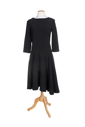 think chic robes femme de couleur noir