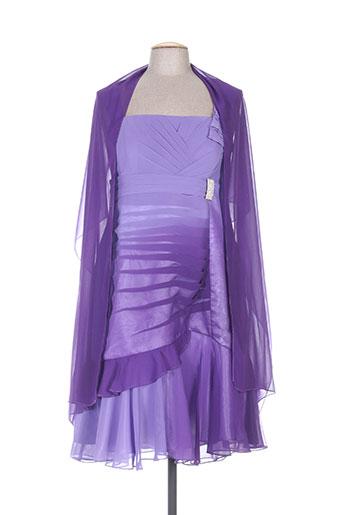 creatif paris robes femme de couleur violet