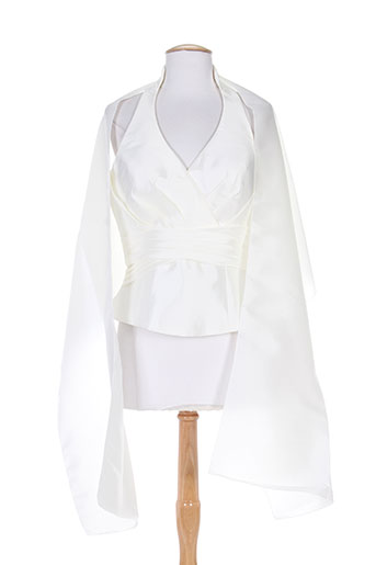 creatif paris chemises femme de couleur blanc