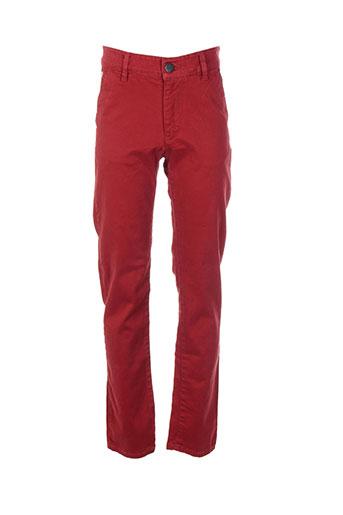 freegun pantalons garçon de couleur rouge