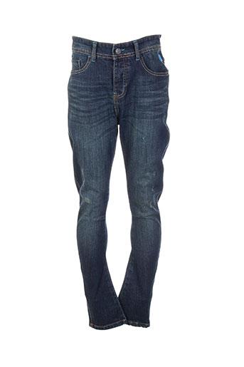 freegun jeans garçon de couleur bleu