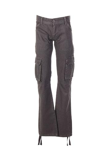 rivaldi pantalons garçon de couleur gris