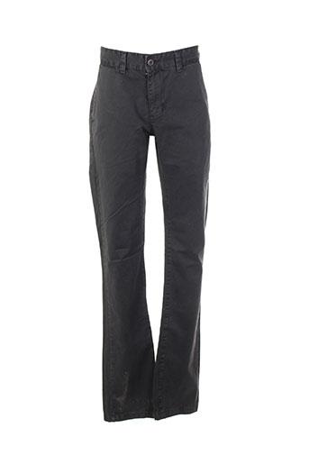 biaggio pantalons garçon de couleur gris