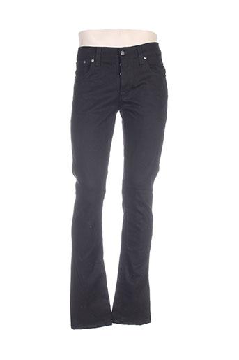 nudie jeans co jeans homme de couleur noir