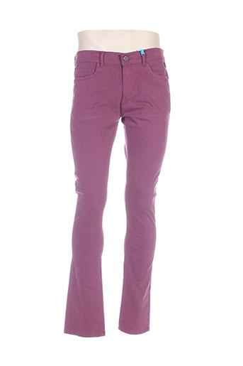 Jeans skinny violet FREEGUN pour homme