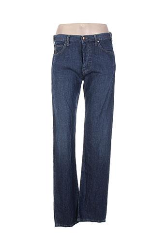 armani jeans femme de couleur bleu