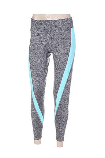 freya pantalons femme de couleur gris