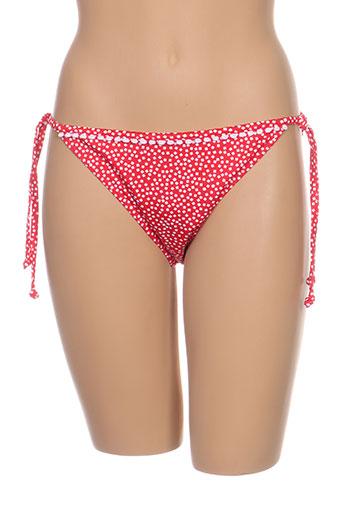 Bas de maillot de bain rouge FREYA pour femme