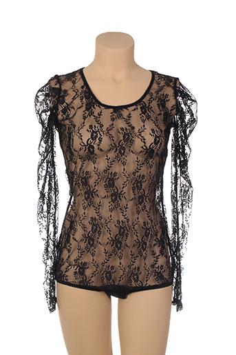 jolidon lingerie femme de couleur noir