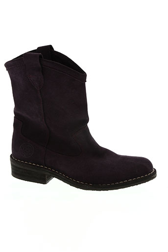 kickers chaussures femme de couleur violet