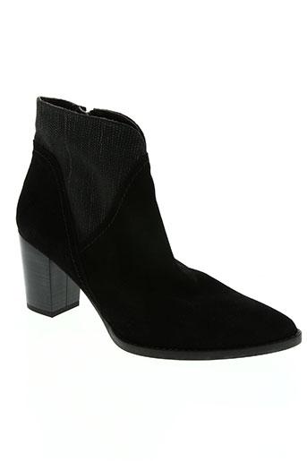 amaru chaussures femme de couleur noir