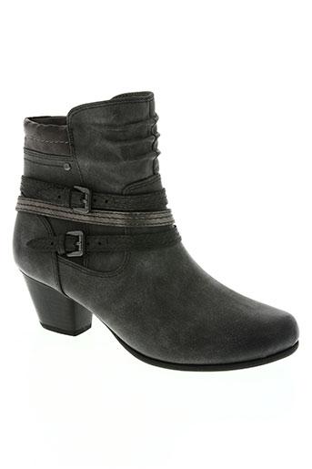 jana chaussures femme de couleur gris