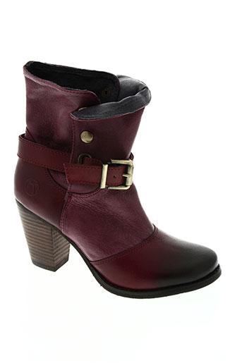 kdopa chaussures femme de couleur rouge