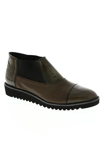 miss fidji chaussures femme de couleur marron