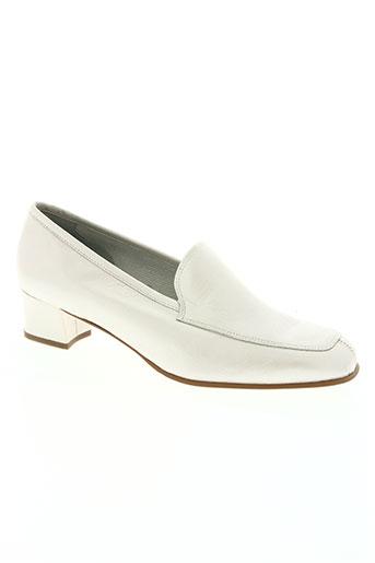 sonate chaussures femme de couleur blanc