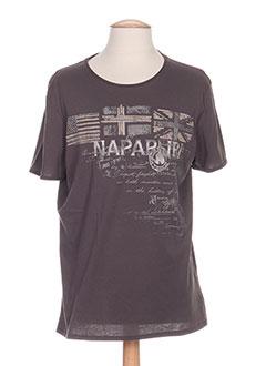 Produit-T-shirts / Tops-Homme-NAPAPIJRI