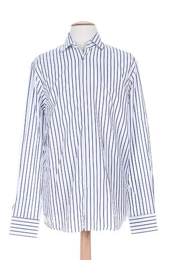 emmanuelle khanh chemises homme de couleur blanc